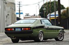 Custom Rare Toyota Corona Mark 2 Coupe Doubles as Japanese Musclecar