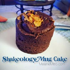 Shakeology Mug Cake is an awesome alternative to a dessert that won't throw you off your routine. Shakeology Mug Cake is an awesome alternative to a dessert that won't throw you off your routine. Shakeo Mug Cake, Shakeology Mug Cake, Chocolate Shakeology, 21 Day Fix Desserts, Diet Desserts, Healthier Desserts, Chocolate Desserts, Shake Recipes, Something Sweet