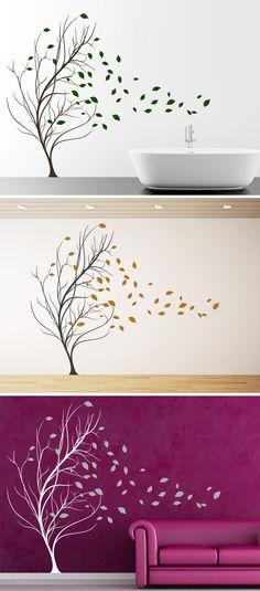 Blätter Baum Im Wind