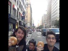 Bagel boys! Nicholas Megalis, Rudy Mancuso By Brendon Urie. I love him so much :D