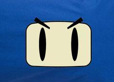 Classic SNES Bomberman Bomber man Face closeup tee t-shirt