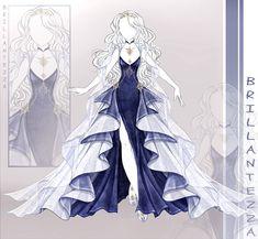 Dress Design Drawing, Dress Drawing, Manga Clothes, Drawing Clothes, Clothing Sketches, Dress Sketches, Fashion Design Drawings, Fashion Sketches, Modelos Fashion