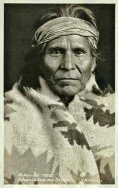 Slau-ee-nez (aka Tall Scout) - Navajo - circa 1920