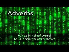 Download this video, song, worksheets and more!  Visit http://grammarheads.com/ for more educational rock and roll.  Grammarheads rock video to help teach about adverbs.