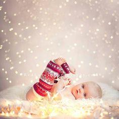 Cute Christmas photo for a card.