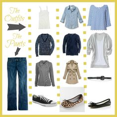Improving Me in 2013: Day 13 {Outfit Combinations} Some outfit combination inspiration