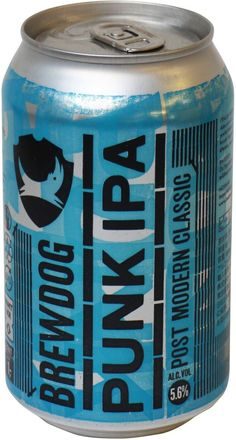 Beer BrewDog, Punk IPA, in can, 0.33 L – price, reviews