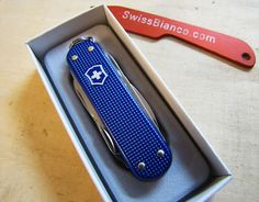 Minichamp Alox Knife Blue /// Dj EDC