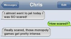Epic text - I almost went to jail today - http://jokideo.com/