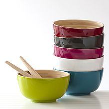 pressed bamboo salad bowls - Google Search Salad Bowls, Bamboo, Projects To Try, Google Search, Tableware, Dinnerware, Tablewares, Dishes, Place Settings