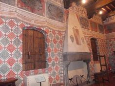 Museo di Palazzo Davanzati (Florence) - 2020 All You Need to Know Before You Go (with Photos) - Florence, Italy Painted Walls, Kitchen Witch, 15th Century, Fresco, Valance Curtains, Castles, Places To See, Renaissance, Trip Advisor