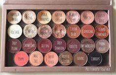 PRETTY & PUT TOGETHER: Z Palette Eyeshadows: Makeup Geek, Anastasia Beverly Hills, & MAC