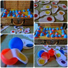 Play Eggs for Children Diy Toys Doll, Farm Unit, How To Make Toys, Diy Easter Decorations, Farm Theme, Felt Toys, Preschool Activities, Easter Bunny, Carnival