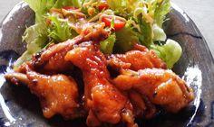 chicken vinegar...<3 ( sweet n sour )