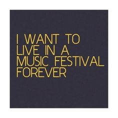 not really, but it really is so fun #dreamlife #everyfestival