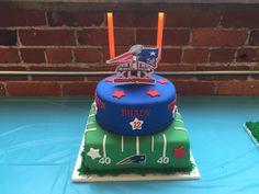First Birthday NFL Super Bowl XLIX New England Patriots Cake