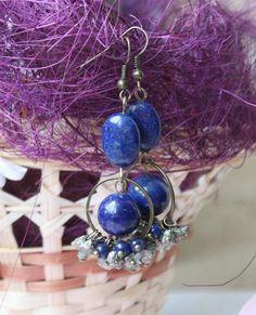 Beautiful Dangle Earrings made by Наталья Дудова from LC.Pandahall.com