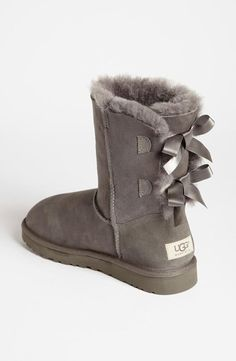 #xmas #gifts #ugg Tie it up! UGG Bow Boot. This is my must have for winter this year!! I'm getting UGGs