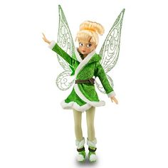 "Amazon.com: Disney Fairies ''Secret of the Wings'' Tinkerbell Doll -- 10"": Toys & Games"