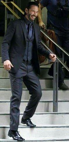 Keanu ♡♥ Reeves 2014 john wick bts