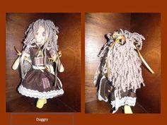 l'angolo di Daggry: bambola di stoffa country