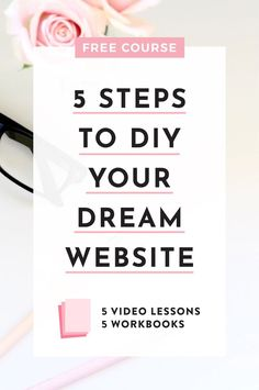 FREE COURSE: 5 Steps to DIY Your Dream Website. Are you ready to learn how to DIY a website that is not only gorgeous, but also converts visitors into paying clients? Check out this FREE course by Big Cat Creative. Creative Web Design, Web Design Tips, Web Design Company, Web Design Inspiration, Design Websites, Blog Design, Custom Website Design, Website Design Services, Web Design Tutorial