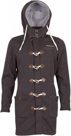 De detti dames houtje-touwtje jas, een prachtige fleece jas voor dames. Gebreide look, een klassieke jas in een sportieve uitstraling en functie.