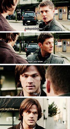 [gifset] 6x17 My Heart Will Go On #SPN #Dean #Sam