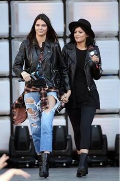 How to Chic: KENDALL AND KYLIE JENNER STREET STYLE