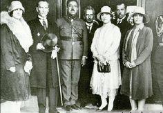 Afgan Kralı Amanullah Han Ankara'da Gazi Mustafa Kemal'i ziyaret etti - 1927.