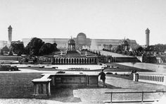 The Crystal Palace was originally erected in Hyde Park, central London, for the Great Exhibition of Afterwards, it was taken apart an. Exhibition Building, Exhibition Space, Crystal Palace, Hyde Park, Palace London, Glass Structure, Le Palais, South London, Expositions