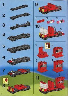 Rescue - Fire House-I [Lego 6385]