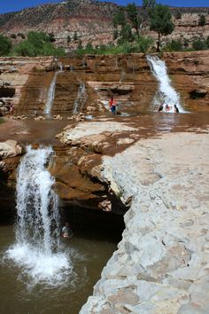 Toquerville Falls, Utah - a must-do! Where it is and what to expect.