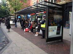 In busy #HighStreet #OOH locations #Consecutive #OOH panels create #OOHimpact - as for @sonyxperia on @JCDecaux_UK
