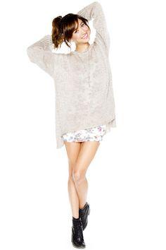 www.brandymelvilleusa.com. #Sweater