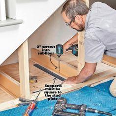 Closet Under Stairs, Garage Stairs, Under Stairs Cupboard, Under Steps Storage, Under Stairs Storage Solutions, Staircase Storage, Stair Storage, Heavy Duty Drawer Slides, Home Stairs Design