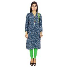 Designer indische Bollywood Kleidung Frauen Ethnische Kurti Lässige Tunika Kleid Indianbeautifulart http://www.amazon.de/dp/B010HRSGZG/ref=cm_sw_r_pi_dp_1vJTwb0R5G7FT