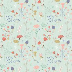 Kathryn Heptinstall | Make It In Design | Summer School 2016 | Honest / Meadow Land | Intermediate Creative Brief 1 | Surface Pattern Design