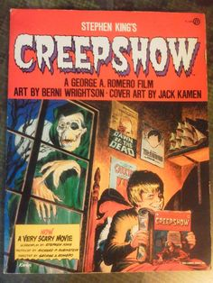 Stephen King's Creepshow - 1st Edition Comic/Graphic Novel Stephen King's Creepshow (1st Edition, Illustrated, 1982, Softcover)