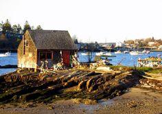 Bailey Island, Maine | Famous Shack at Mackerel Cove