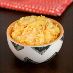 Golden Saffron Rice - a great way to shake up your side dishes!