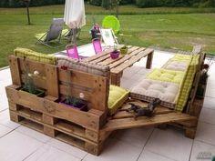 Набавил само дрвени палети, а она што го направил е неверојатно! | popara.mk