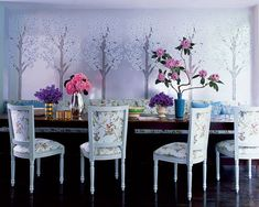 Cynthia Rowley's Dining Room