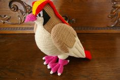 Ravelry: Pidgeot (Pokemon) pattern by J. Lopez