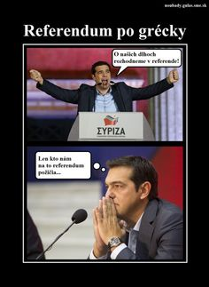 Referendum po grécky