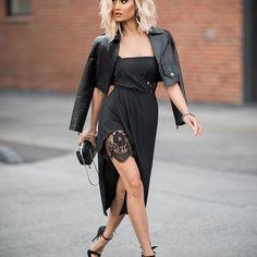 Black on black on black ♠️ Dress from @runawaythelabel