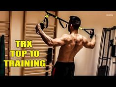 The Best Workout TRX TRAINING - 10 Exercises TRX training - YouTube