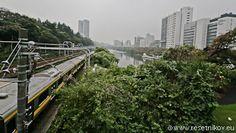 Iidabashi trains / Tokyo