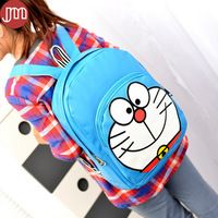 New Fashion Doraemon Backpack Blue Student Bags Schoolbag for Young Kid Primary…