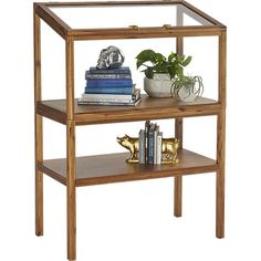 atrium display cabinet in view all new | CB2